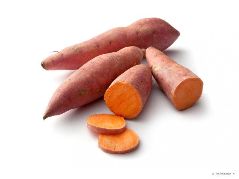 zoete aardappel houdbaarheid